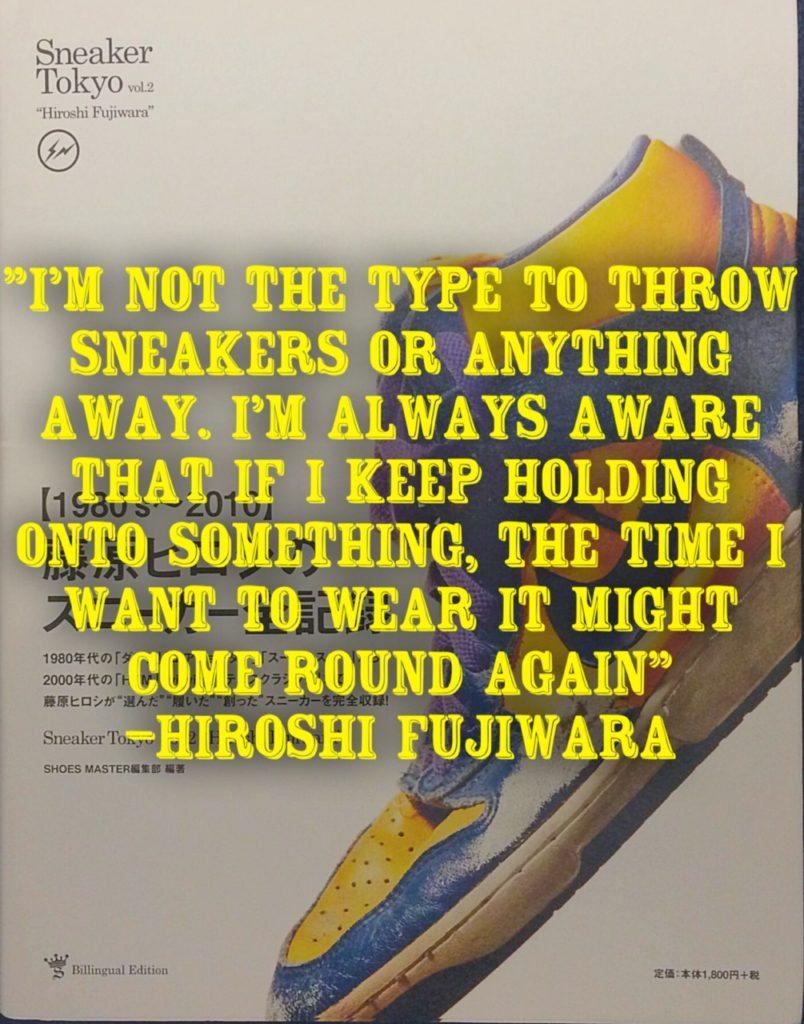 Sneaker Tokyo Vol 2 Hiroshi Fujiwara
